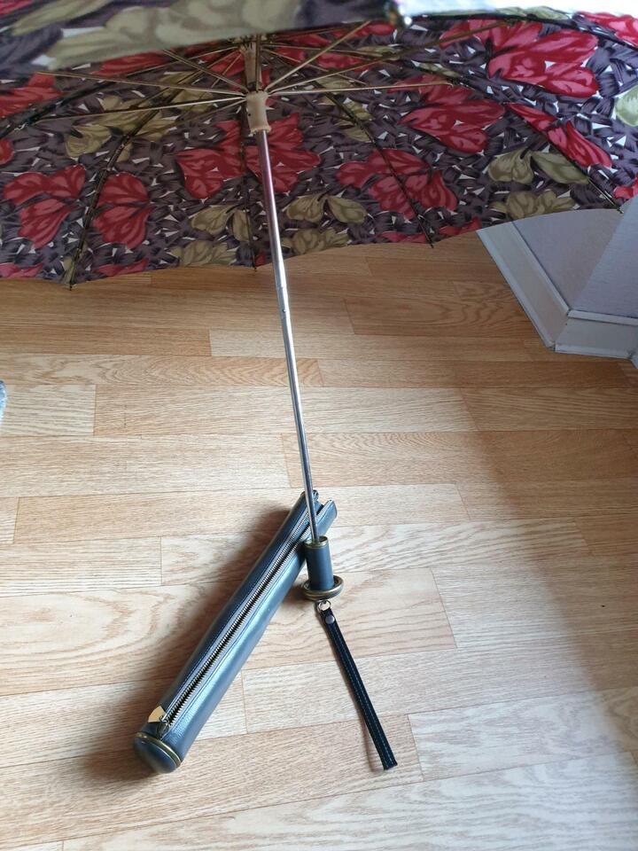 Nyltest Regenschirm Antik (Lederhülle) Sammlung in Rostock - Lichtenhagen