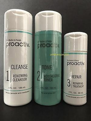 Proactiv 3Pc 60 Day Kit Proactive 3 Step System With Usage Guide Exp  07 2019
