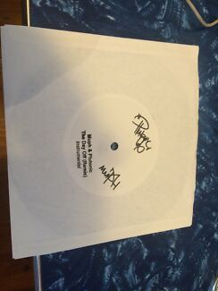 MUPH & PLUTONIC the day off 45 OZ hiphop vinyl. Signed!! Hallett Cove Marion Area Preview