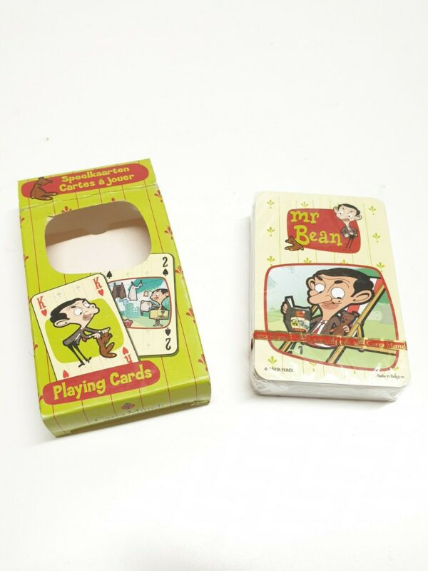 Mr Beans Playing Cards - Cartoon Mr Beans Play card