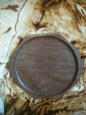 Antique/ Vintage Large Octagonal Wooden Tray