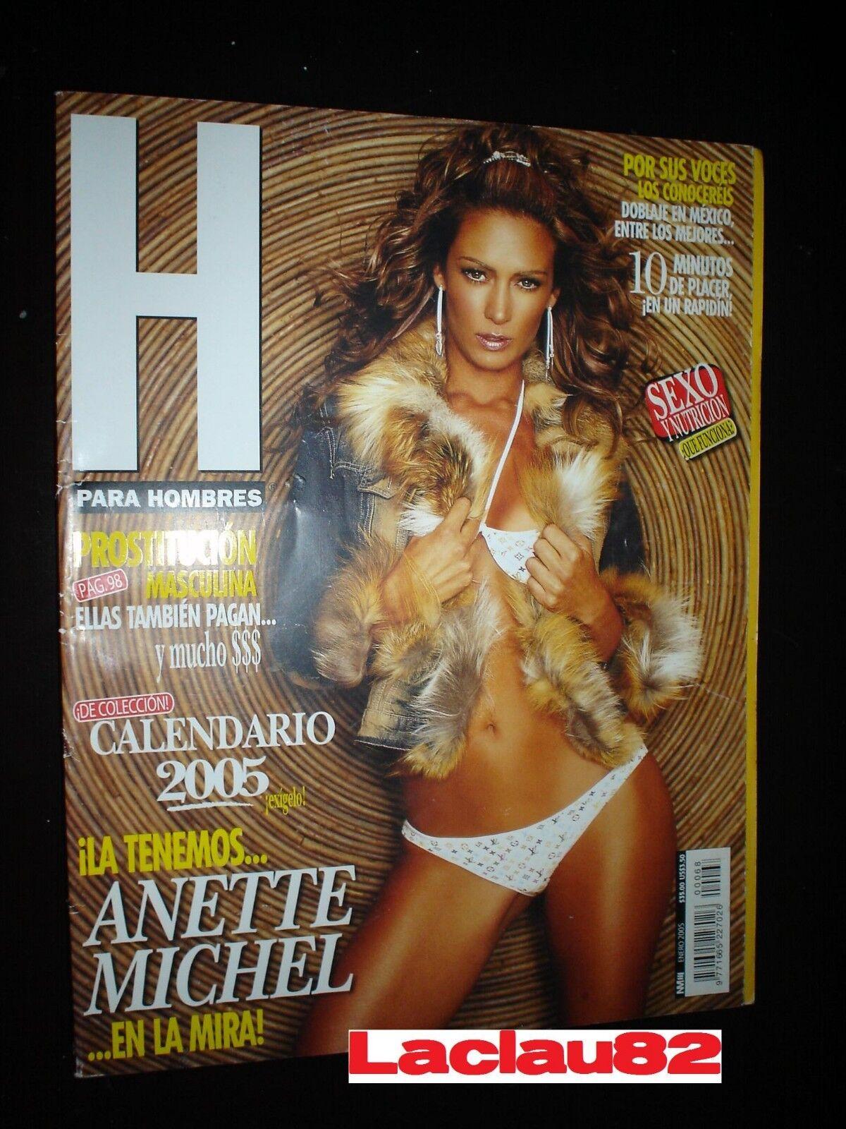 Anette Michel H anette michel #68 revista h para hombres mexican