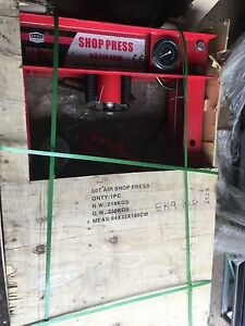 New never used 50ton shop press