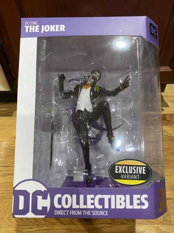 DC Collectibles DC Core: The Joker PVC Vinyl Statue (Exclusive Variant)