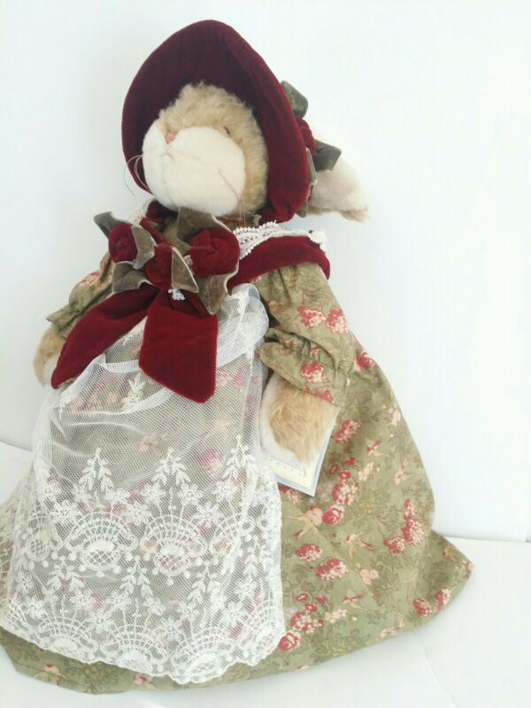 Bunnies by the bay collectibles Ruby Rose Hips Plush Stuffed Animal with Tags