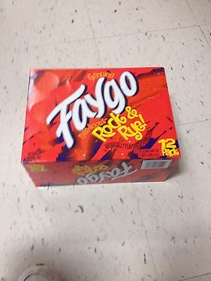 Faygo Rock And Rye 12 Oz Cans Case Of 12 Detroit Own Pop. Great Gift