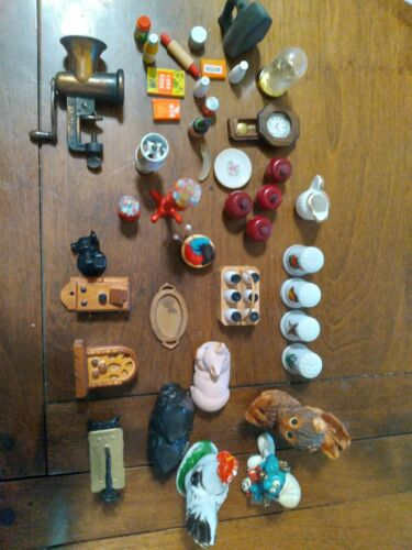 Vintage Miniatures Lot