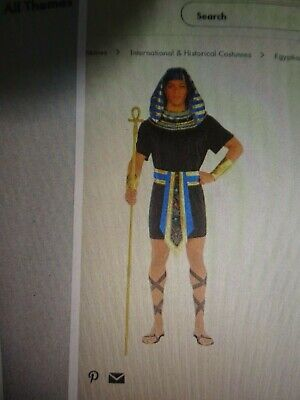 Egyptian Pharaoh Egypt Adult spirit halloween Costume large NEW - Halloween Egypt