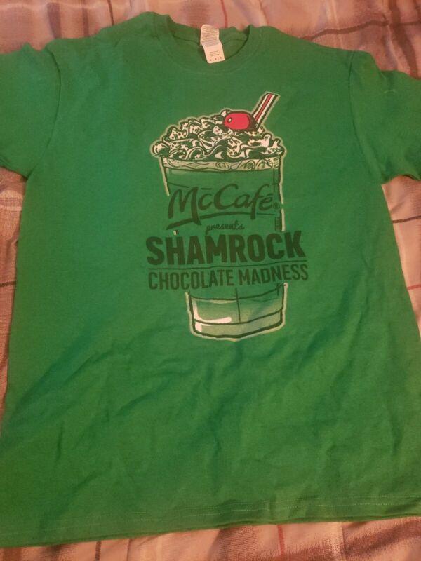 McCafe Shamrock Shake T-shirt 2017. Size M