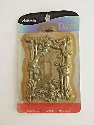 Antique Brass Finish Hardware - Antique Brass Finish Toggle Wall Plate 60TCG Elegant Switch plate Cover Hardware