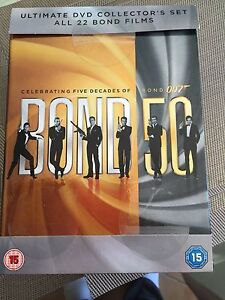 ULTIMATE DVD collector's  BONDFilms Robina Gold Coast South Preview