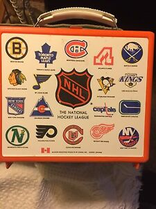 Vintage NHL Lunchbox