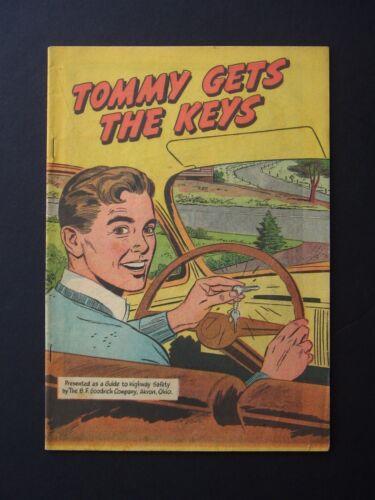 Tommy Gets The Keys #nn VF- 1947 B.F.Goodrich Promotional Comic Book