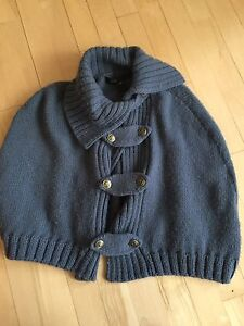 MARC JACOBS cape One size  Blue wool