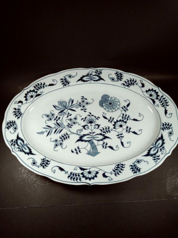 """Blue Danube 16"""" Oval Serving Platter"""