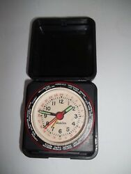 Westclock Small Battery Operated  Travel Alarm Clock Overseas time