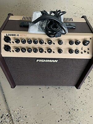 Fishman Loudbox Artist Acoustic Implement Amplifier 120 watts Brand New