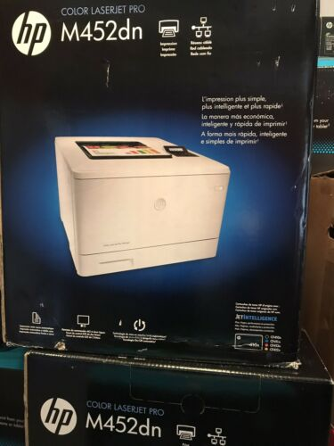 BRAND NEW - HP Color LaserJet Pro M452dn Laser Printer - 28p