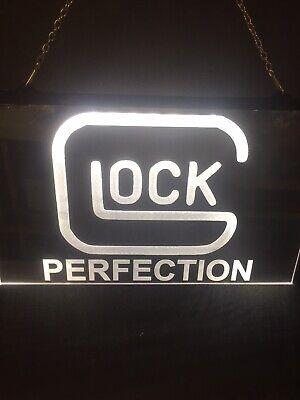Glock Firearms Super Bright Led Neon Light -