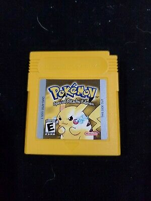 Pokemon yellow authentic