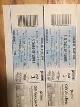 5 Seconds of Summer Sydney 2x Tickets Wednesday 5th October Swap Queanbeyan Queanbeyan Area Preview