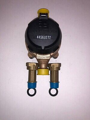 Badger 58x34 M25 Brass Water Meter With Couplings