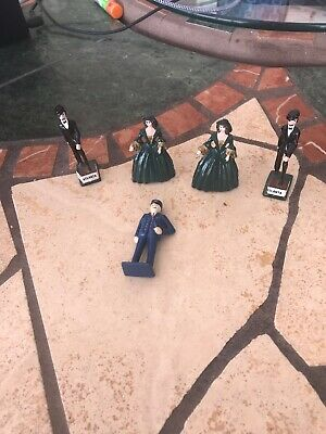 Cast Iron Vintage Figurines - lot of four (5)