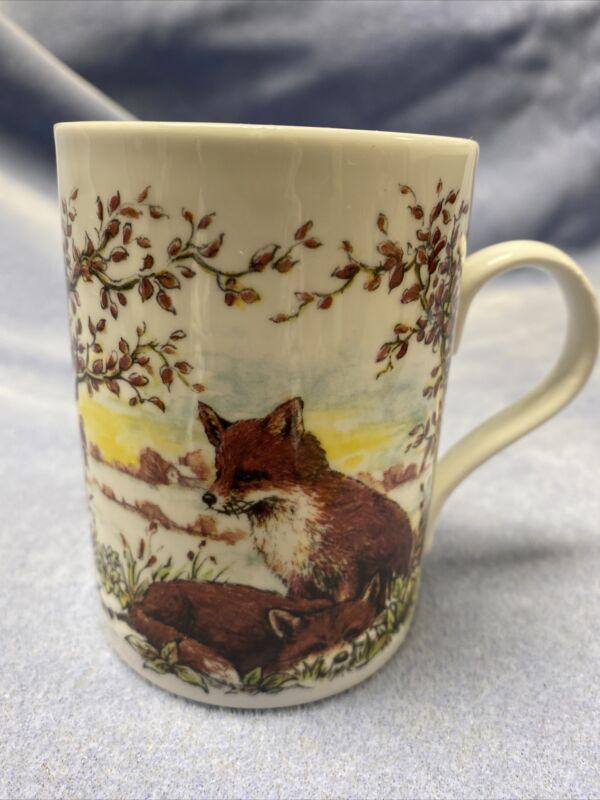 Wild Fox Wildlife Coffee Cup Fine Bone China