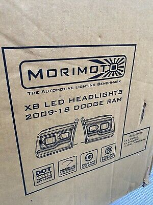 Morimoto XB LED Headlight Assembly Plug and Play 09 b18 Dodge Ram 1500 2500 3500