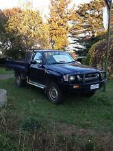 2003 Toyota  Turbo Hilux steel tray Ute Avonsleigh Cardinia Area Preview