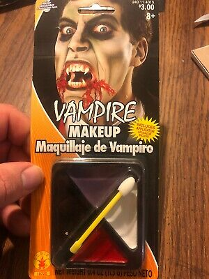 Rubie's Costume Vampire Halloween Makeup Face Kit Washable With Applicator .4oz