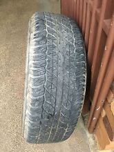 Toyota Hilux steel rim and tyre Condell Park Bankstown Area Preview