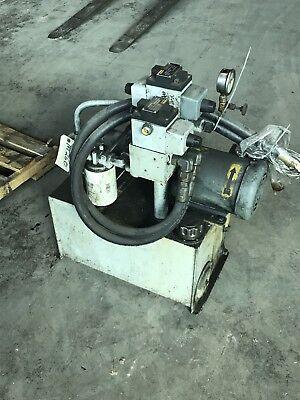 2 Hp Hydraulic Power Units Vickers