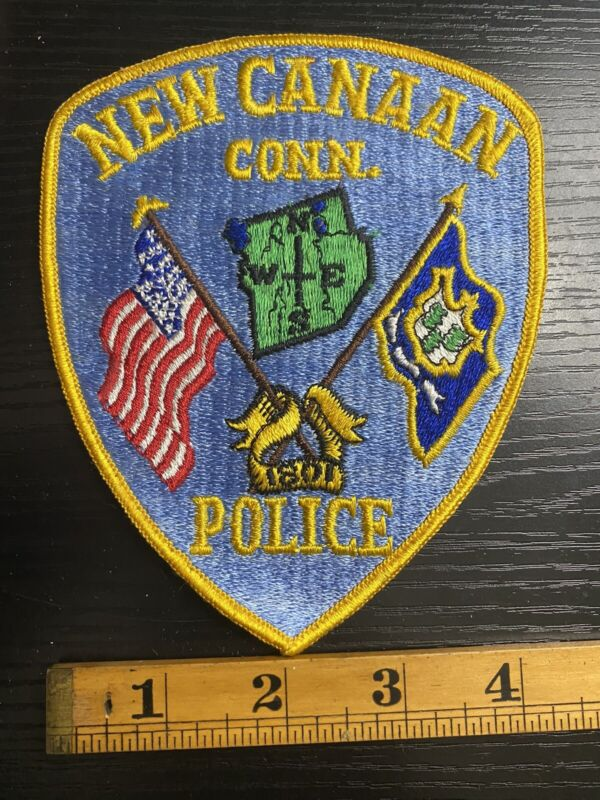 New Canaan Police Connecticut Patch B4