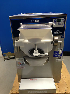 Refurbished Carpigiani Lb200g Tronic Batch Freezer Gelato Ice Cream Water Cooled
