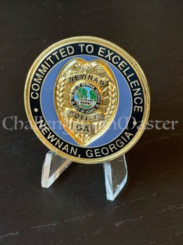D19 Newnan Georgia Police Department Challenge Coin