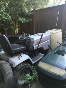3 riding mowers for sale
