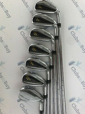 TaylorMade Rocketbladez Irons Mens Right Hand Stiff Flex Steel 5 - SW