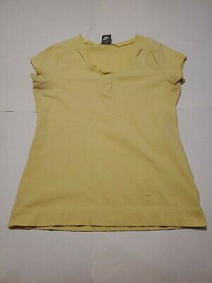 Nike Women's Short Sleeve Shirt~Yellow~ Size XL~Great Condition