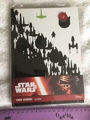 BNWT STAR WARS RESISTANCE SHIPS A5 HARDBACK NOTEBOOK JOURNAL