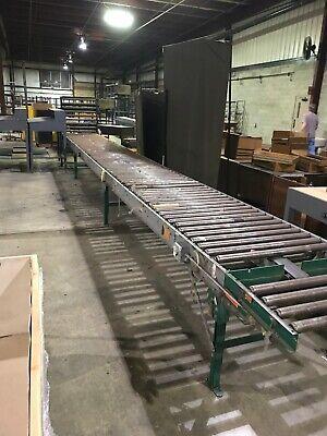 36 Rapistan Belt-driven Roller Conveyor 102020-01