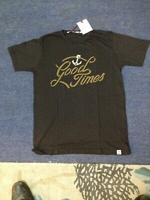Iron and Resin Good Times T Shirt Black Small