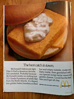 1979 McDonald's Ad Best Catch in Town