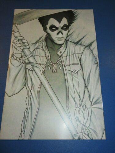Shadowman #1 Virgin Grey Frison Variant Rare NM Gem Wow