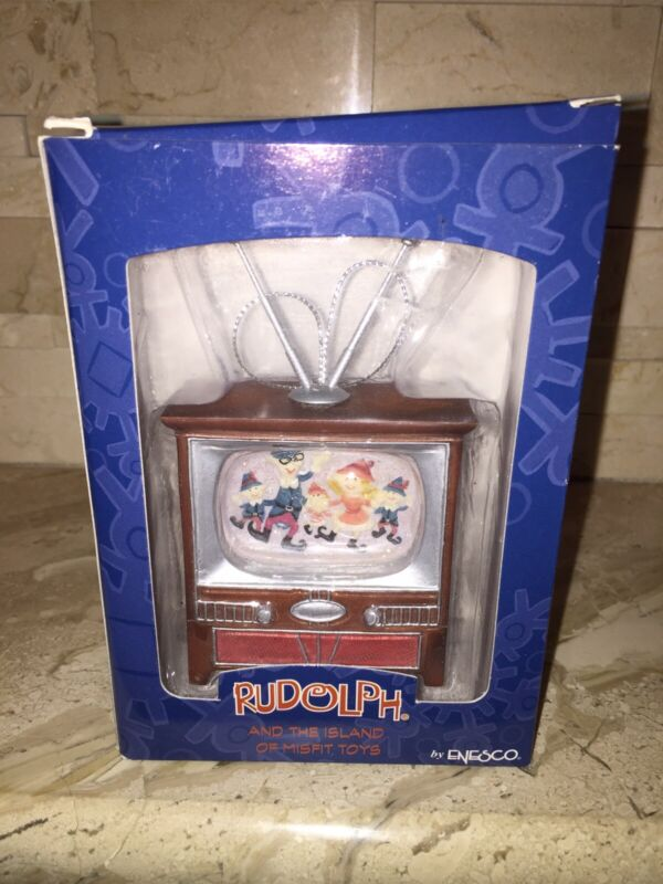 RUDOLPH AND THE ISLAND OF MISFIT TOYS ELVES ON TV ORNAMENT