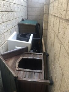 RABBIT Hutch, Tunnels, And Carrier