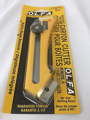 OLFA Carton Cutter Box Heavy-Duty Snap-Off Model #9021 CL Made in Japan NEW! (Olfa Carton Cutter)