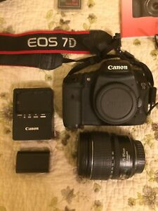 Canon 7D Camera+Lens Kit with accessories