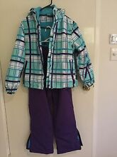 Snow Jacket and 2 pants - Girls size 12 Waterford West Logan Area Preview