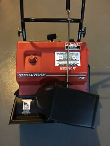 "Murray 20"" 3hp snowblower in mint condition"